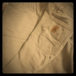 46x30 Carhartt Duck Work Pants